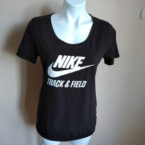 Nike Brown Track & Field T-shirt. Size Large